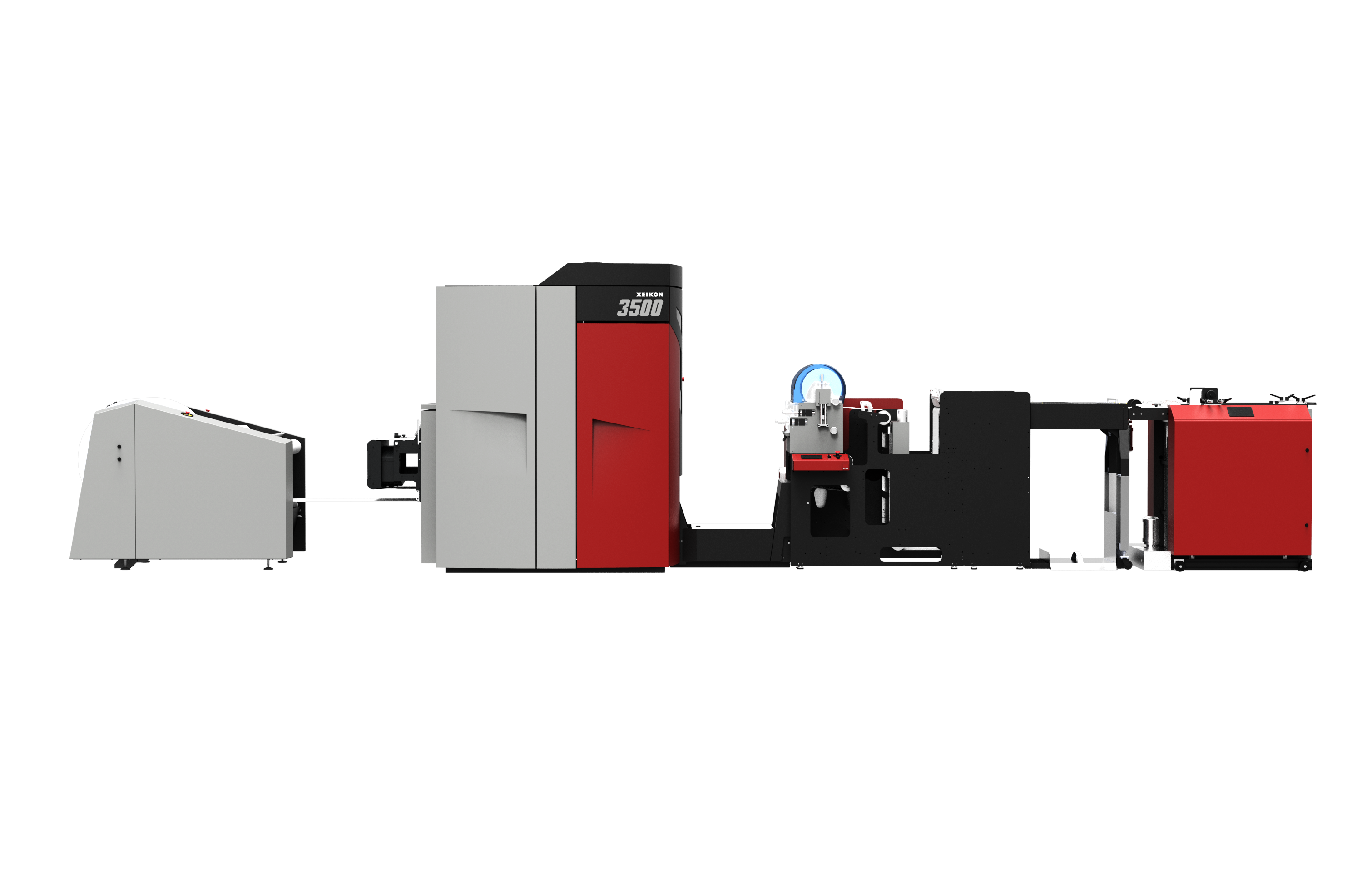 Digital production solution with a Xeikon 3500
