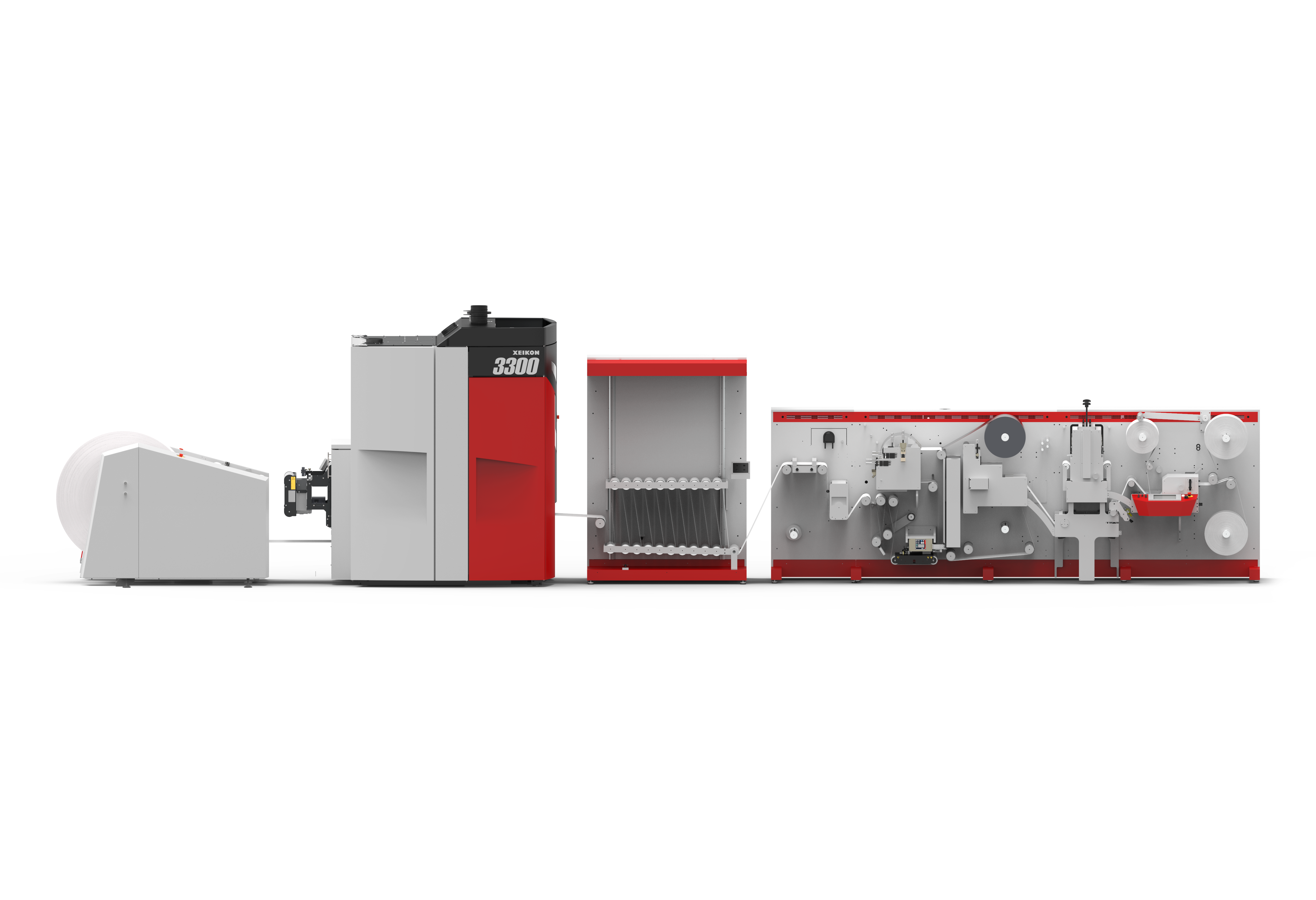 Digital production solution with a Xeikon 3300