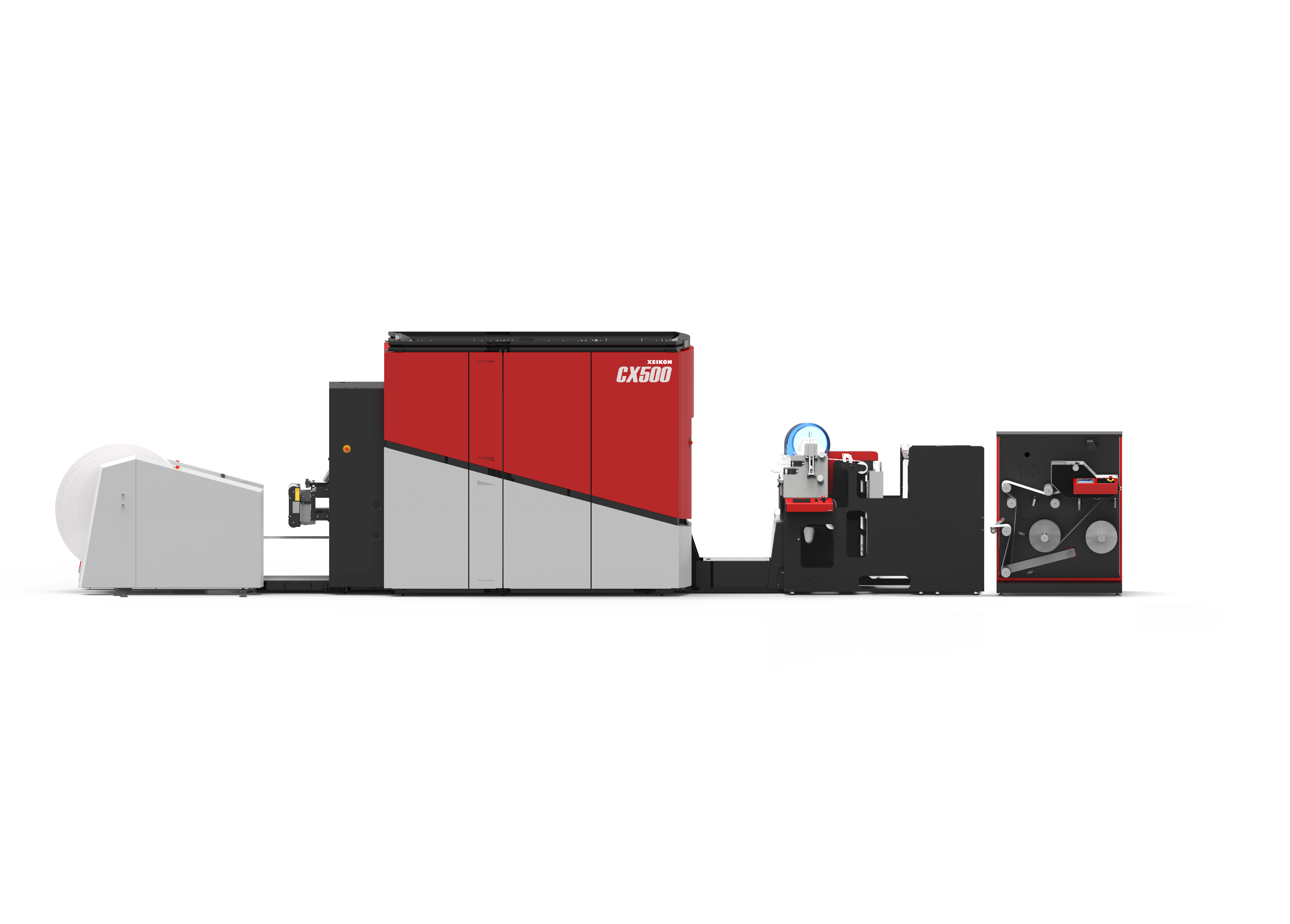 Digital production solution with a Xeikon CX500